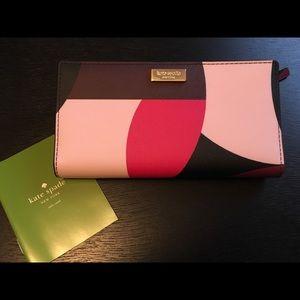Kate Spade Geo Spotlight Wallet Zip card case